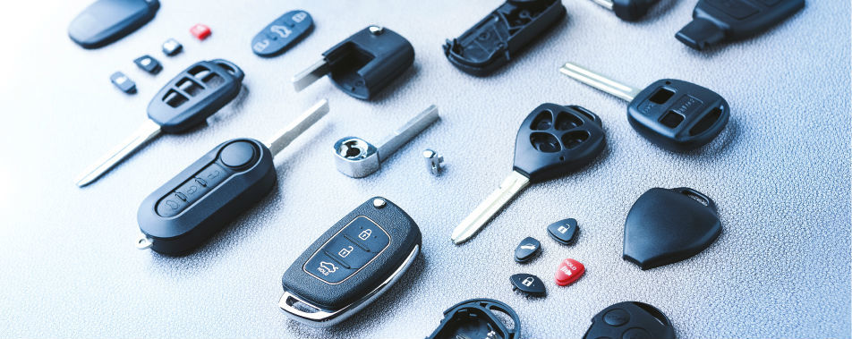 Car Key Shells nieuwe catalogus